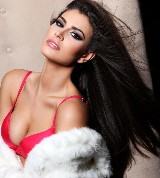 Miss Universe 2012 High Fashion Lingerie Pictures: Karina Gonzalez, Mexico