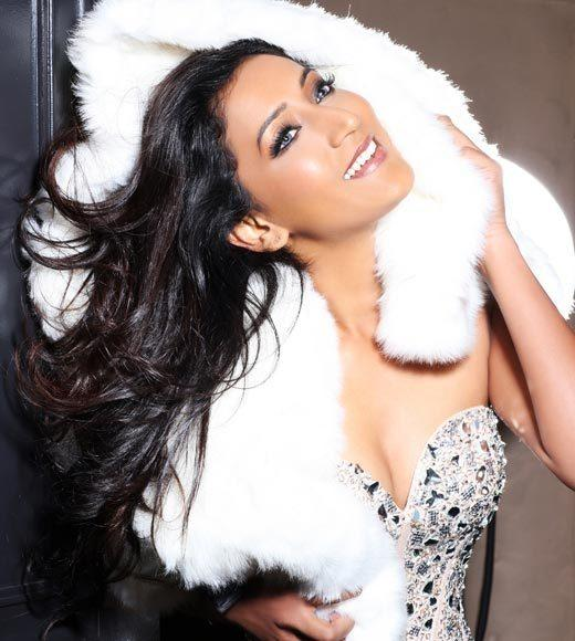 Miss Universe 2012 High Fashion Lingerie Pictures: Ameeksha Dilchand, Mauritius