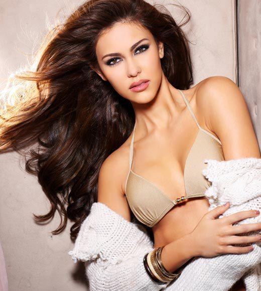 Miss Universe 2012 High Fashion Lingerie Pictures: Kimberley Leggett, Malaysia