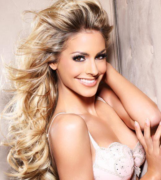 Miss Universe 2012 High Fashion Lingerie Pictures: Nathalie den Dekker, Netherlands