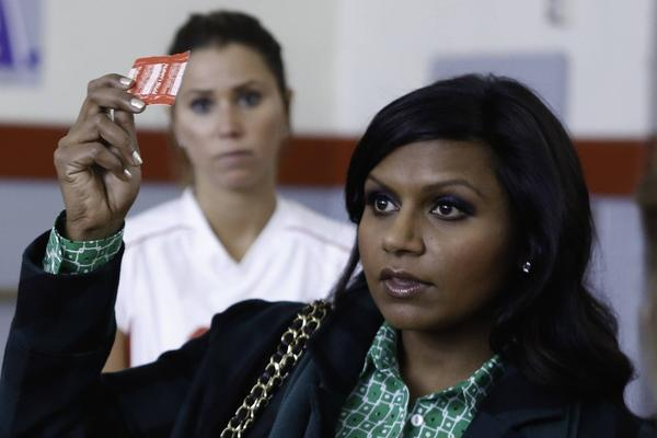 Mindy Kaling, who breaks rules just by being Mindy Kaling, plays a nice twist on the young-woman-getting-it-together-in-the-city trope: The devil who lives on one shoulder and the angel who sits on the other have agreed for the time being to agree to disagree. The show has blossomed since it was decided that the warring characters secretly love each other.