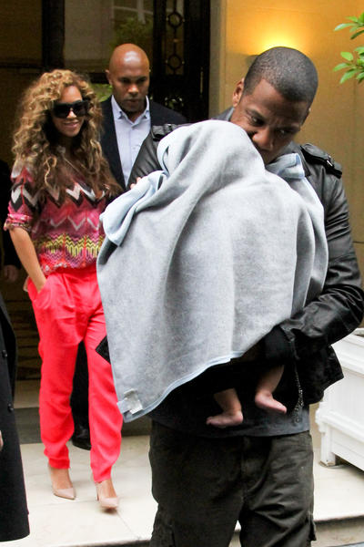 Year in Review: Entertainment news of 2012: Power couple Beyonce and Jay-Z welcomed their first child, Blue Ivy, on Jan. 7. Her parents have done a good job of keeping her out of paparazzis viewfinders, but its a fair bet they wont be giving up on snapping a photo of her any time soon.