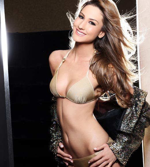 Miss Universe 2012 High Fashion Lingerie Pictures: Cagil Ozge Ozkul, Turkey