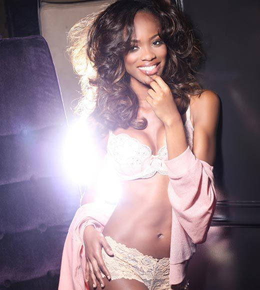 Miss Universe 2012 High Fashion Lingerie Pictures: Avionne Mark, Trinidad & Tobago