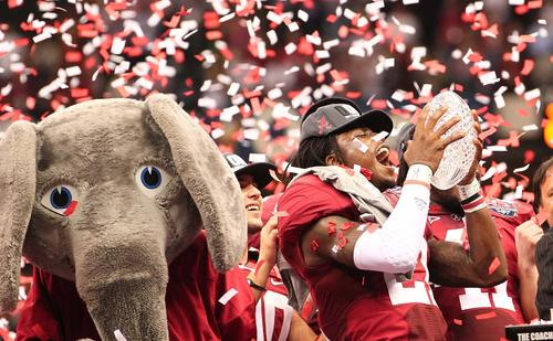 What else is new? The Crimson Tide defeated their SEC rival LSU Tigers 21-0 to snatch the national title, their second in three years. LSU beat Alabama when they played during the regular season.