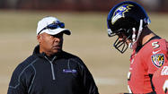 If the next three games are Jim Caldwell's audition to become the Ravens' permanent offensive coordinator, then the odds are stacked against him.
