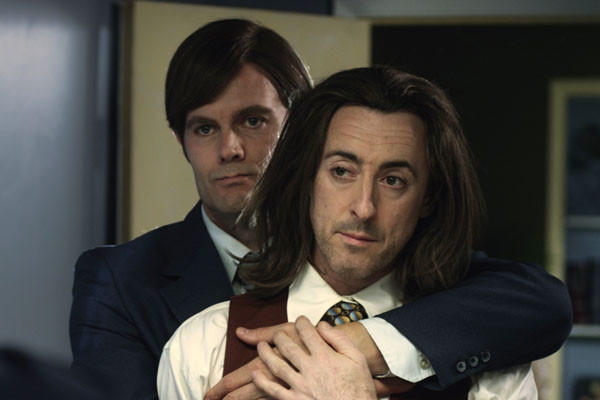 """Garret Dillahunt, left, and Alan Cumming in a scene from, """"Any Day Now."""""""