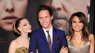 "Amanda Seyfried and Eddie Redmayne both wore Alexander McQueen to the New York premiere of ""Les Miserables"" on Monday. Seyfried's cat-eye makeup got almost as much attention as her gown. But neither got quite as much buzz as the SM-style boots <a href=""http://nymag.com/thecut/2012/12/anne-hathaways-vegan-tom-ford-boots-multi-zoom.html"">Anne Hathaway wore</a>. <a href=""http://nymag.com/thecut/2012/12/mcqueen-new-yorks-les-miz-premiere.html"">[Cut]</a>"