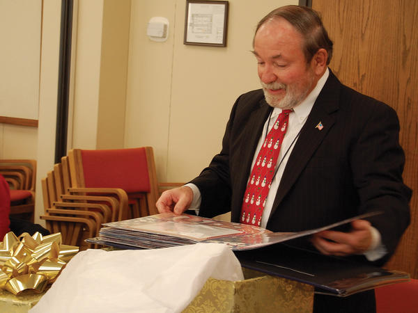 Franklin County (Pa.) Court of Common Pleas Judge Richard Walsh will be retiring at the end of the year. The county's criminal justice advisory board, which Walsh has led for years, recognized him with an award, scrapbook and remarks.