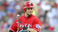 Angels paint the town red with Josh Hamilton