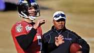 As the Ravens' new offensive coordinator, Jim Caldwell's responsibilities have grown considerably over the past five days, extending far beyond his old role overseeing quarterback Joe Flacco.