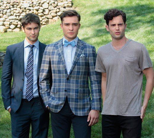 'Gossip Girl' fashion: The good, the bad and the exceedingly ugly: Nate looks good. Dan looks bad (or at least underdressed). Chuck looks... like Chuck. Which is awesome.