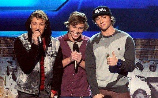 "The organically free-spirited fellows of Emblem3 took the news of their ""X Factor"" loss in stride."