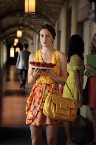 'Gossip Girl' fashion: The good, the bad and the exceedingly ugly: Oh, Blair. Youre smart enough to to get ahead without bribing people with pie.