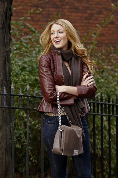 'Gossip Girl' fashion: The good, the bad and the exceedingly ugly: Great jacket, shiny hair, covetable bag... want!