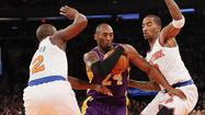 Photos: Lakers vs. Knicks