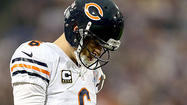 Cutler has sprained MCL