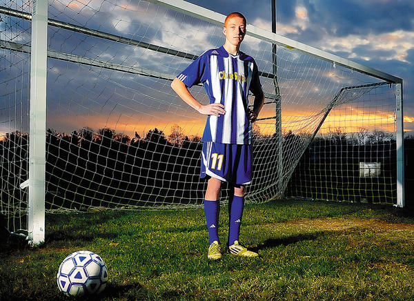 Clear Spring senior Corey McClure is The Herald-Mail's 2012 Washington County Boys Soccer Player of the Year.