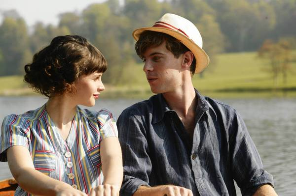 "Felicity Jones and Luke Treadway in ""A Cheerful Weather For the Wedding."""