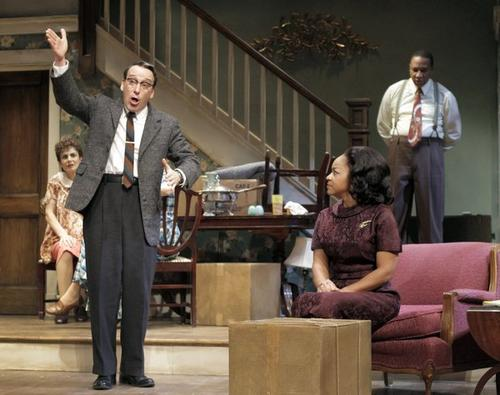 "Bruce Norris constructed a provocative history of the house that the African American Younger family is heading to at the end of Lorraine Hansberry's ""A Raisin in the Sun."" An impeccable ensemble, under the direction of Pam MacKinnon, helped this Pulitzer Prize-winning drama capture the Tony Award for best play after the production went on to Broadway."