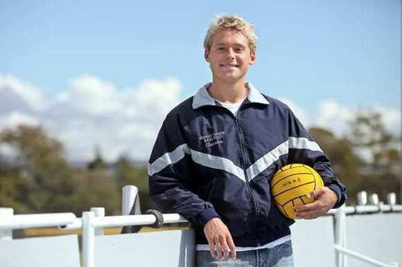Newport Harbor High senior Dan Stevens will play water polo for Harvard University.
