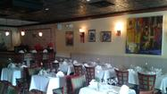 The dining room at Bouillabaisse in Fort Lauderdale.