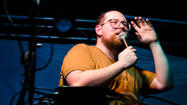 Watch Dan Deacon, and his app, at work on 'Jimmy Kimmel Live!'