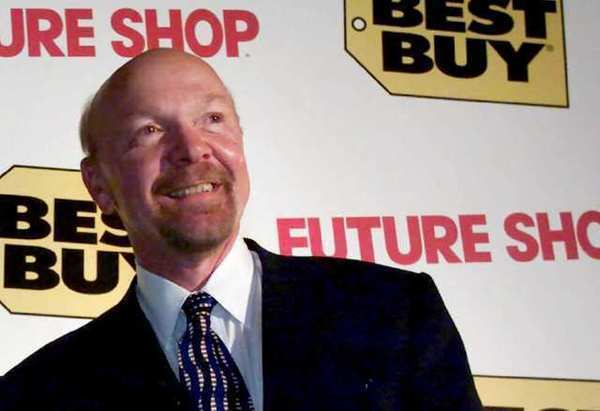 Richard Schulze, shown in 2001, will have until February to make an offer for Best Buy, the company he founded.