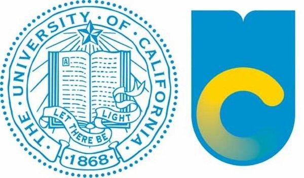 Old and new UC logos