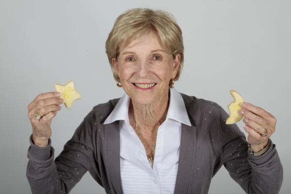 Carol Eblen from Ensinitas made uber lemony shortbread cookies.