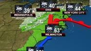 Snowy pattern in forecast next week; could miss Maryland