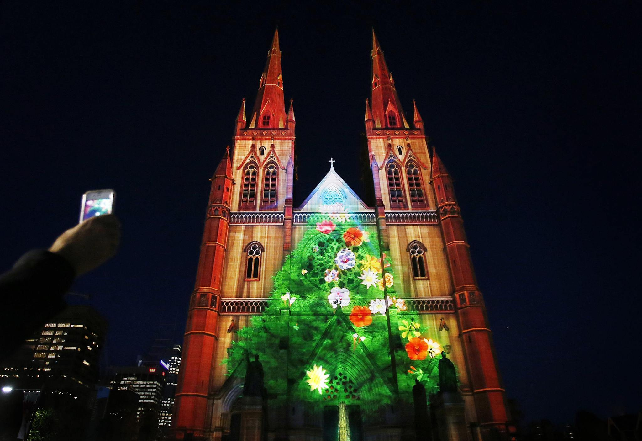Pictures: Holiday lights from around the globe - Christmas in Sydney, Australia