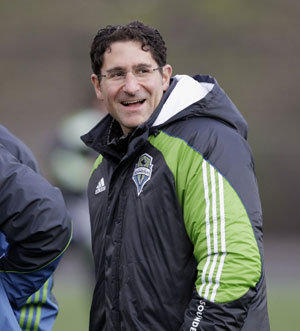 Seattle Sounders GM Adrian Hanauer