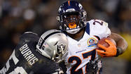 Knowshon Moreno finally getting a chance to carry the load for Broncos
