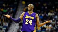 "After the Lakers lost their fourth straight game Thursday night, Kobe Bryant remarked, ""Right now I wish we had the Washington Generals on our schedule."""