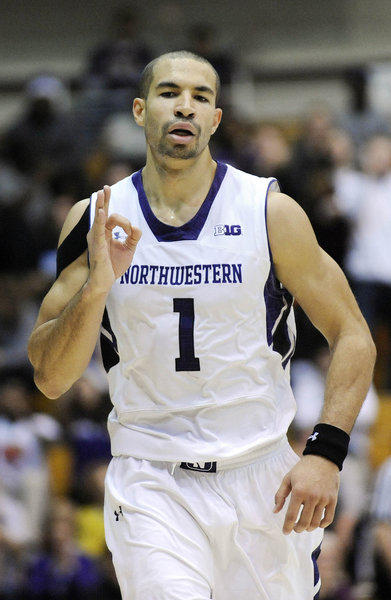 Northwestern's Drew Crawford.