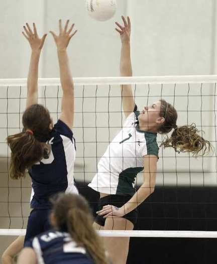 Sage Hill School senior Maggie Danner (7) earned first-team All-Academy League honors.