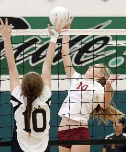 Estancia High freshman middle blocker Emma Griffith earned first-team All-Orange Coast League honors.