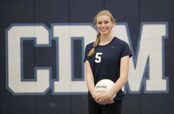 Corona del Mar High sophomore Hayley Hodson earned All-CIF Southern Section Division 1-AA honors.