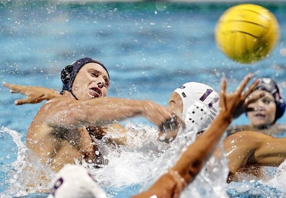 Newport Harbor High senior Dan Stevens was named the Sunset League Player of the Year.