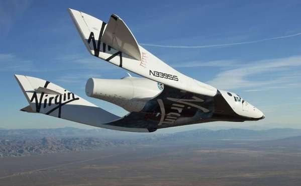 Virgin Galactic's craft SpaceShipTwo undergoing testing in 2010. In the future, researchers wrote this week, many more of us will be traveling to space on crafts like this -- and doctors will have to learn how to prepare us for it.