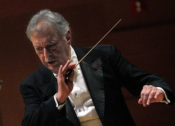 Zubin Mehta conducts the L.A. Philharmonic as part of a celebration of the 50th anniversary of his first concert as music director of the L.A. Phil.
