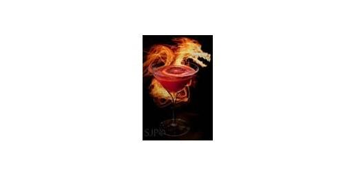 The rum brand celebrates the release of its 12-year anejo spirit by commissioning mixologists to create cocktails inspired by the year of the dragon, 2012's Chinese zodiac sign.<br><Br> <b>1 1/2 ounces</b> of Ron Abuelo 12 Años <br> <b>1/2 ounce</b> of Domain de Canton<br> <b>3/4 ounce</b> of mezcal<br> <b>3/4 ounce</b> of Elderflower cordial<br> <b>1 1/2 ounces</b> of blood orange juice<br> <b>3 </b>lime wedges<br> <b>5 drops </b>of Angostura bitters <br><br>  Muddle lime wedges, elderflower cordial and 3 drops of bitters in a shaker.  Add ice, rum, Domain de Canton, mezcal and blood orange juice.<br> Shake and strain into a martini glass. Garnish with 2 drops of Angostura bitters and a blood orange slice.<br><br>   Per serving: 236 calories, 0% calories from fat, 0 g fat, 0 g saturated fat, 0 mg cholesterol,  12 g carbohydrates, 0 g protein, 2 mg sodium, 0 g fiber, 27 g Alcohol