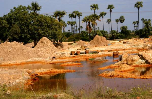 Farmers in northern Myanmar complain of health problems and environmental destruction around the Letpadaung copper mining complex, including water tainted by chemicals, dying crops, higher cancer rates and the loss of beneficial insects.