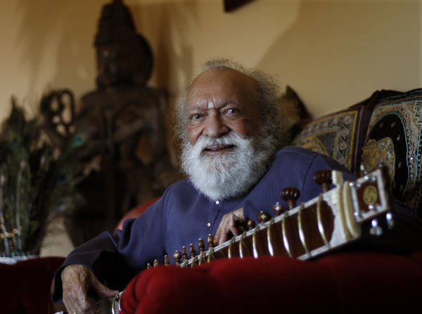 "Ravi Shankar, 92, who introduced Indian music to much of the Western world, died Tuesday at a hospital near his home in Encinitas. Stuart Wolferman, a publicist for his record label Unfinished Side Productions, said Shankar had undergone heart valve replacement surgery last week.  Well-established in the classical music of his native India since the 1940s, he remained a vital figure on the global music stage for six decades. Shankar is the father of pop music star Norah Jones and Anoushka Shankar, his protege and a sitar star in her own right.  <br> <br> <strong>Full story:</strong> <a href=""http://www.latimes.com/news/obituaries/la-me-ravi-shankar-20121212,0,3590779.story"">Ravi Shankar dies at 92; sitar master</a> 