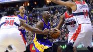 Photos: Lakers at Wizards