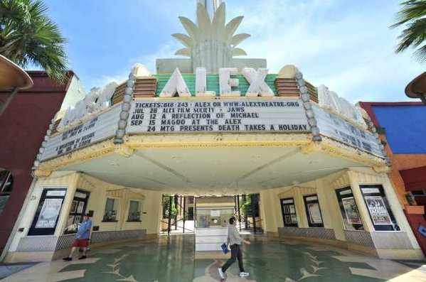 The Alex Theatre in Glendale saw a jump in revenue this year.