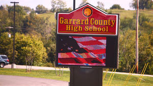 Garrard principal accepts state job