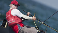 Annapolis native Hutchinson reacts to his America's Cup ouster
