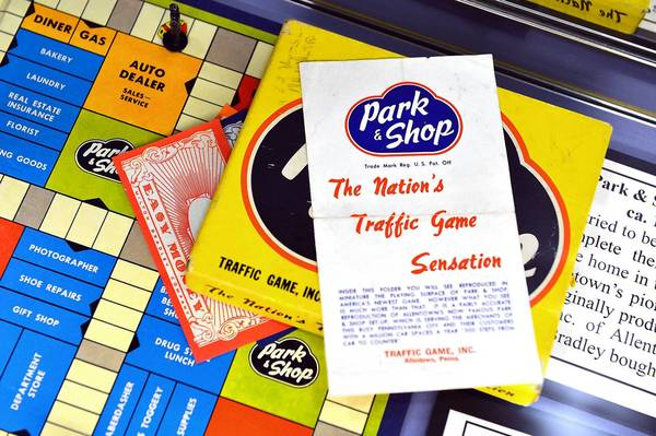 Park & Shop, a game invented in Allentown, is on display as part of the vintage toy exhibit at Lehigh Valley Heritage Museum in Allentown.